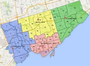 Kanada-Toronto-Haritası