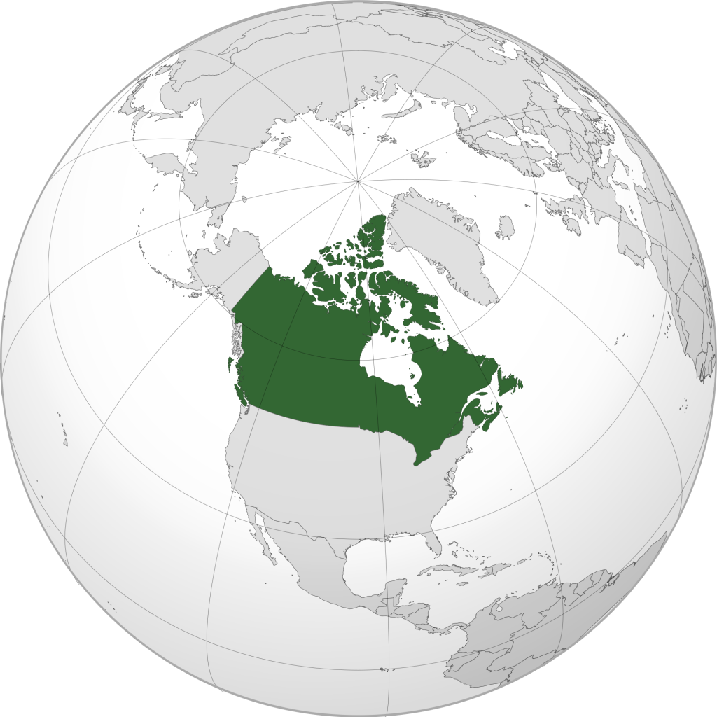 Dünya Haritası Kanada