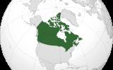 Dünya Haritasın'da Kanada Nerede ?